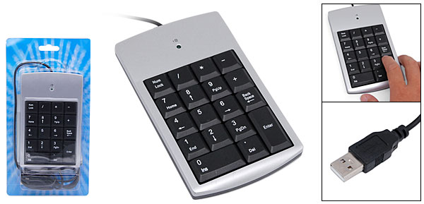 Laptop Desktop USB Mini Numeric Keyboard Keypad
