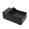 US Plug 100-240V Camera Battery Charger for Canon CRV3  Black wit...