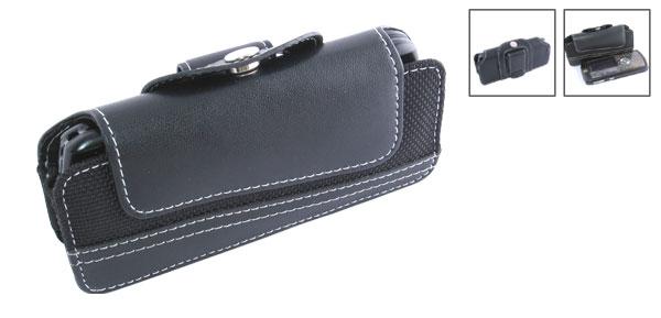 Black Belt Clip Holder + Plastic Case for Motorola L7 L6