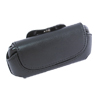 Motorola L7 L6  Belt Leather Case with Belt Clip - Black