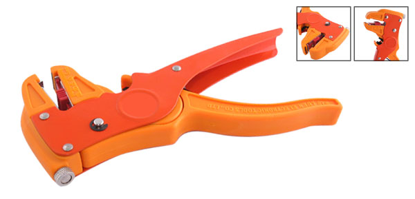 Wire Cable Adjustable Stripping Cutting Cutter Tool Orange