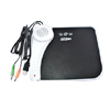 Music Mouse Pad Speaker Microphone USB Port Midi Jack