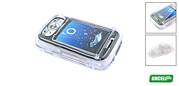 Clear Plastic Case with belt clip for O2 XDA Atom