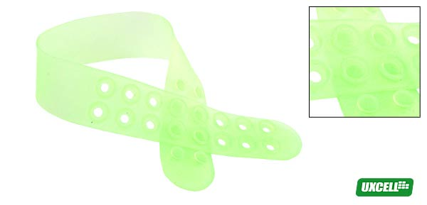 Silicon Armband for iPod - Clear Green