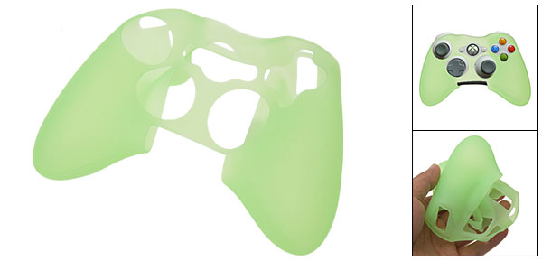 Silicone skin protector for Xbox 360 Controller - Light Green