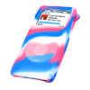 Protection Cover Skin for iPod Nano - Marbled Blue & Red