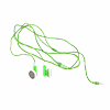 3.5MM Necklace Stereo Earphone for MP3/MP4/PMP - Green