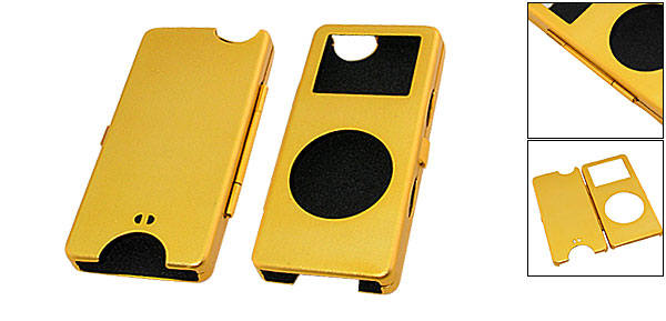 Aluminum Hard Case for iPod Nano - Golden
