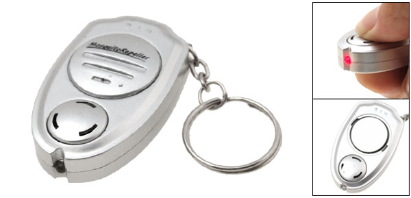 Electronic Sonic Mosquito Repeller - Key Ring Style - Silvery