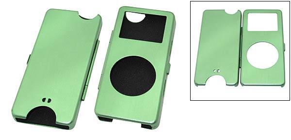 Aluminum Hard Case for iPod Nano - Sandy Green