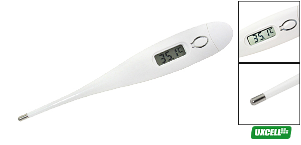Digital Beeper Thermometer for Testing Body Temperatures (KT-DT4B)  White