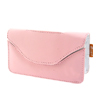 Leather & silicone skin Case for Nintendo DS NDS lite  Pink