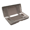 Silicone Skin Case for Nintendo DS NDS Lite - Charcoal Gray