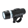 LED Bicycle Power Beam Headlight Set Black Flashlight Torch ***/