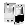 Metal Aluminum Case w/Belt Clip for PDA Phone MOTOROLA Q Silver