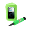 Inflatable Cyan Plastic Case Water Guard for iPod Nano Video Photo