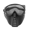 Air Soft Face Guard Mesh Tactical Mask Goggles (ST04) - Black