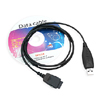 USB Data Transfer Adapter Cable for Mobile Phone LG 8120 - Black