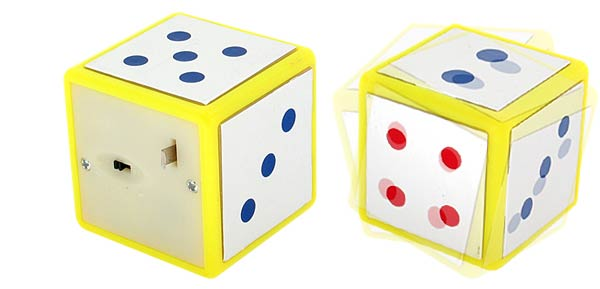 Desk Decoration Amazing Powerful Shocking Dice (TY-KL085) - Whit