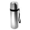 Silver Tone Stainless Steel 350mL Water Vacuum Flask