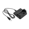 USB Charger Data Hotsync Dock cradle for Dopod CHT 9000 - Black