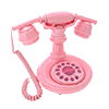 Deluxe Vintage Classical Corded French Cradle Phone Telephone - Pink