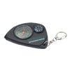 Mini Key Ring Map Measure Meter & Compass - Black