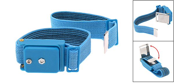 Anti-static Cordless Wrist Strap ESD Control for Electrician (99301) - Blue