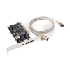 Desktop PC IEEE DV 1394 Data Card PCI for Photo AV Data Transfer ...