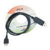 USB Data Connectivity Adapter Sync Cable for BenQ & Siemens C81, EF81, E81, EL71, E71, M81, EF71, S68 (DCA-140) - Black