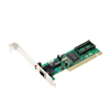 PC 10/100Mbps PCI Fast Ethernet Network Card - Green