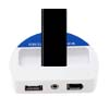 For iPod Wireless FM Transmitter 4 Channels White New