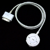 Remote Control Cable for Apple iPod 2nd Nano - White