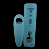 Silicone Skin Case for Nintendo Wii Game Remote Controllers - Blu...