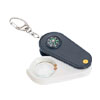 Illuminant Counterfeit Money Detector Magnifying Glass Key Ring w...