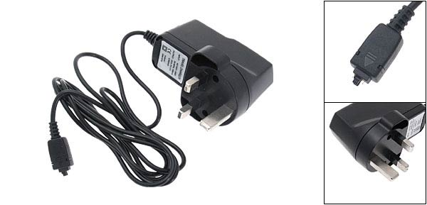 UK Plug 100-250VAC Rapid Convenient Travel Mobile Phone Charger for NEC101