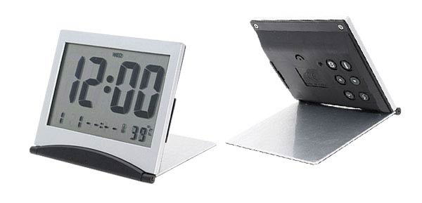 Desktop Calendar Temperature Digital Alarm Clock