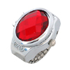 Fashion Ruby Red Simulated Diamond Ring Jewelry Watches