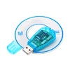 USB Cell Phone SIM Card Reader Adapter Writer SMS Editor Cyan for GSM