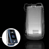 Crystal Plastic Mobile Phone Hard Cover Case for Motorola V3X Cle...