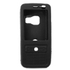 Silicone Skin Case for Nokia N73 - Black