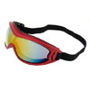 Fire Red Snow Goggles