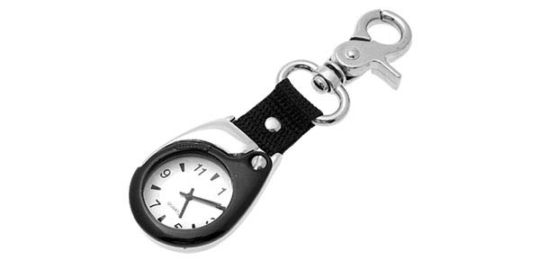 Fashion Jewelry Mini Key Ring Quartz Watch Clock@
