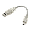 M USB to Mini USB 5 Pins Cable Adapter for MP4 MP3