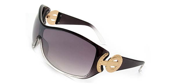 Capri Classic Ladies Sun Glasses UV Protection Black Frame