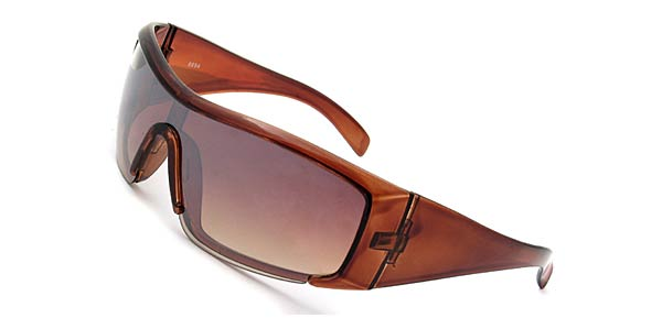 Elegant Capri Ladies Brown Frame Lenses Sunglasses