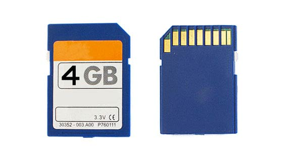 4GB SD Memory Card Secure Digital Memory Card