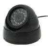 Security  Surveillance Wired Color CCD Dome Camera@