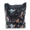 Fashion Jewelry Embroider Silk Exquisite Lady Shoulder Bag - Blac...