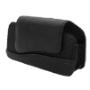 Faux Leather Case Holder for Nokia N90- Black@